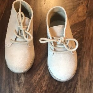 Janie and Jack Suede dress shoes size toddler 6